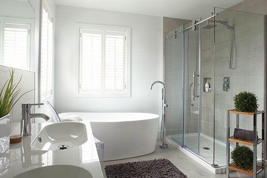 Inspiration déco Salle de bains design Bathroom renos, Room decor - salle de bains design photos