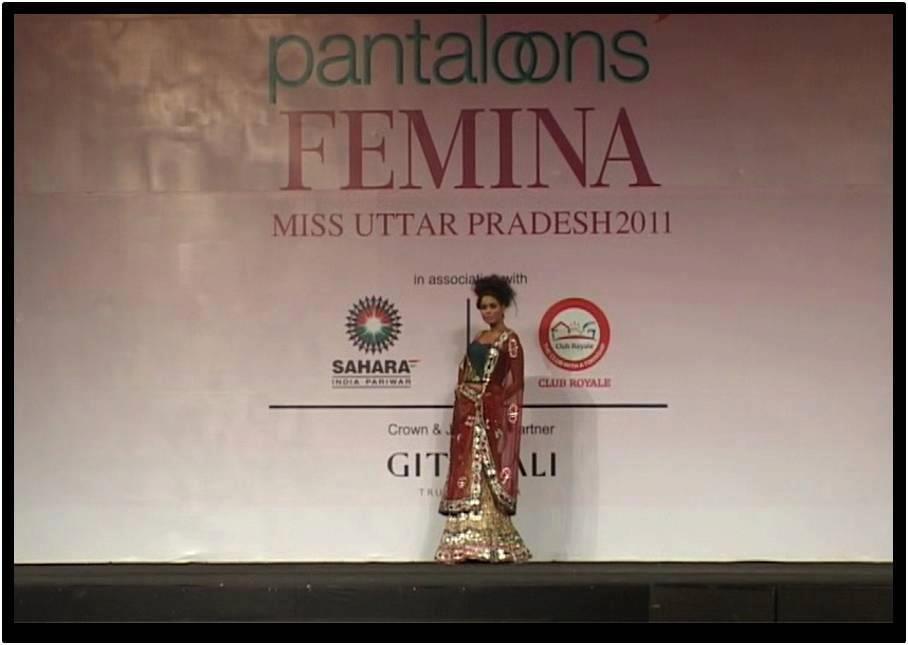 Fashion Choreography @ Femina Miss Uttar Pradesh 2011 in LUcknow