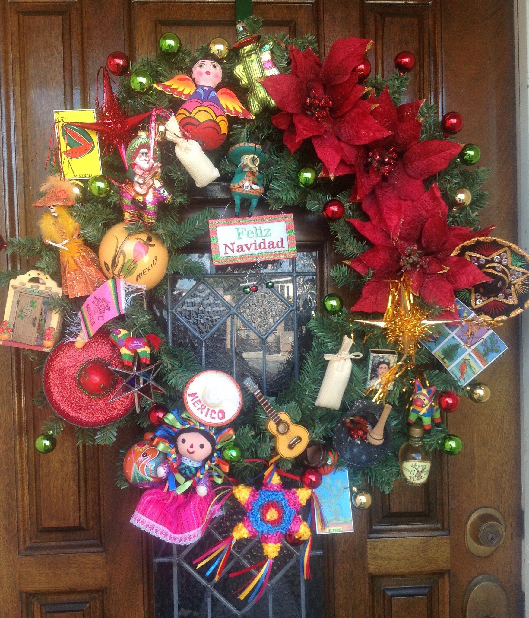 Mexican Navidad Decoracionbabyshower Cestas De Navidad Navidad Navidad Mexicana