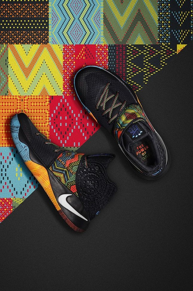 size 40 ddc17 673d2 Nike Kyrie 2  Black History Month
