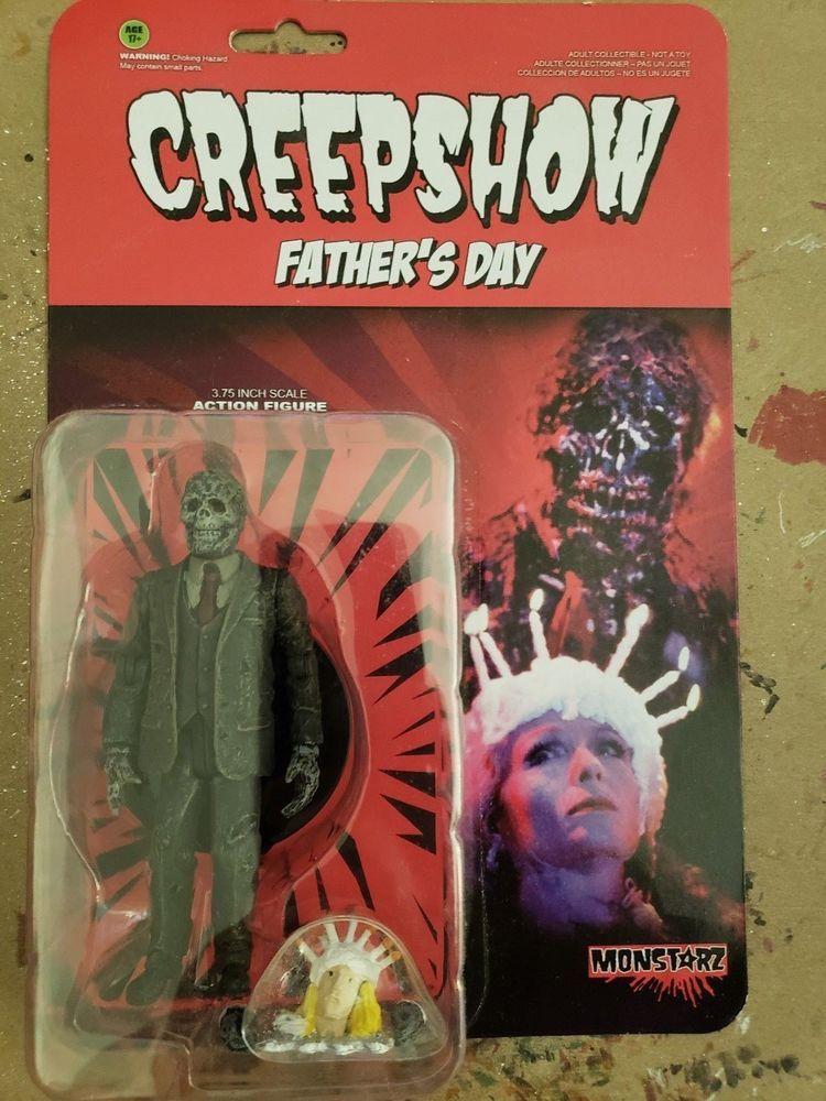 "Monstarz Creepshow Father/'s Day 3.75/"" Scale Retro Action Figure"