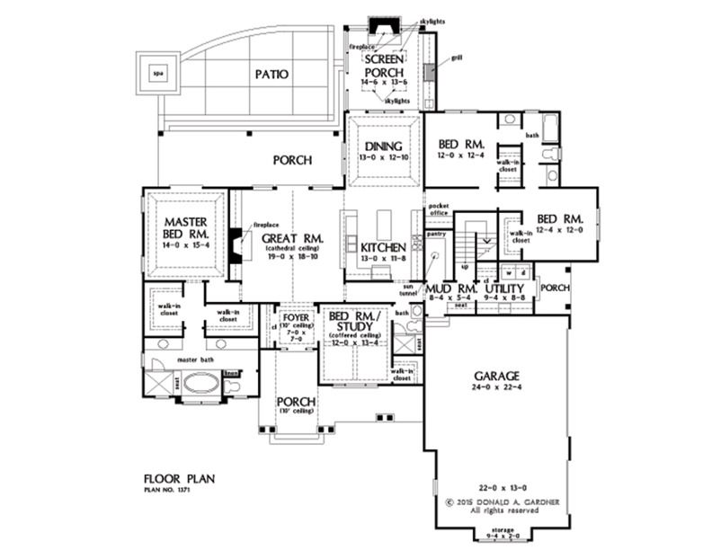 Plan of the week under 2500 sq ft - The Drake 1371! Mixed ...