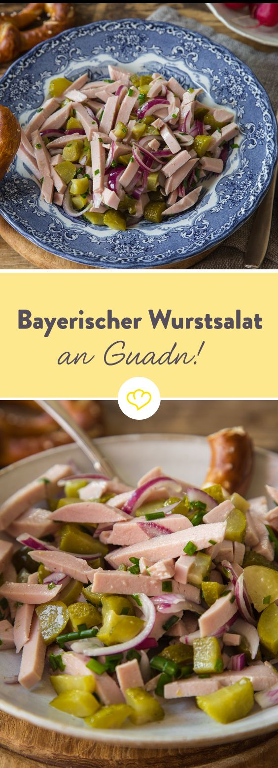 es geht um die wurst bayrischer wurstsalat recipe deutsches essen pinterest food. Black Bedroom Furniture Sets. Home Design Ideas
