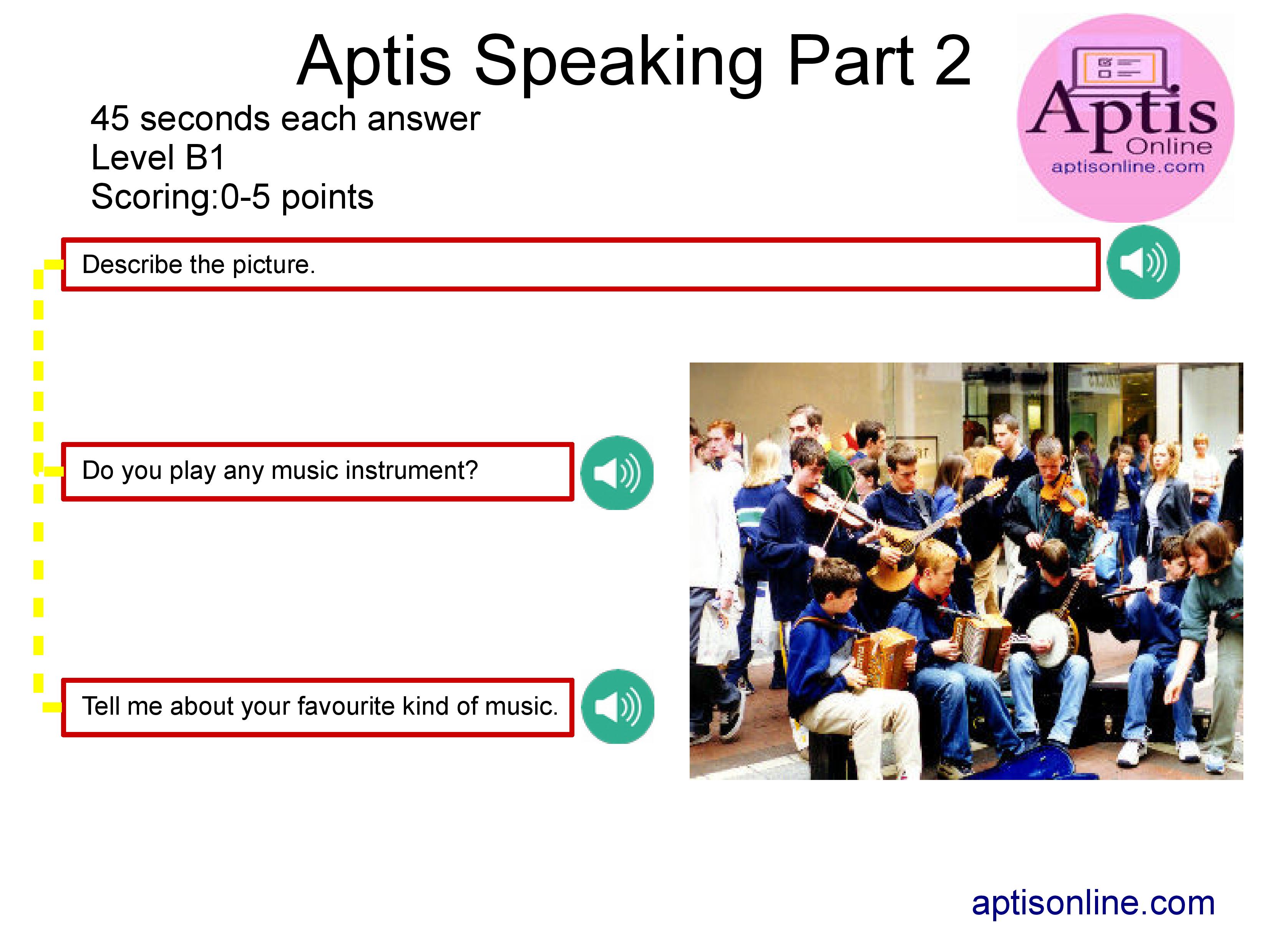 Aptis Speaking Practice 1 En