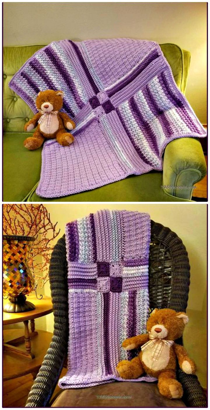 100 Free Crochet Blanket Patterns to Try Out This Weekend ...