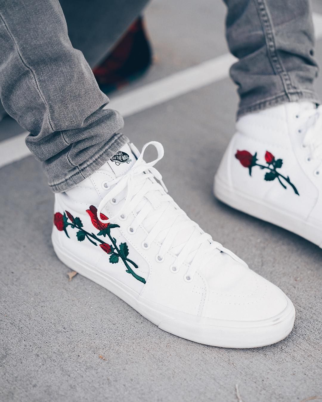 Best Instagram Sneaker Photos  Vans Sk8-Hi