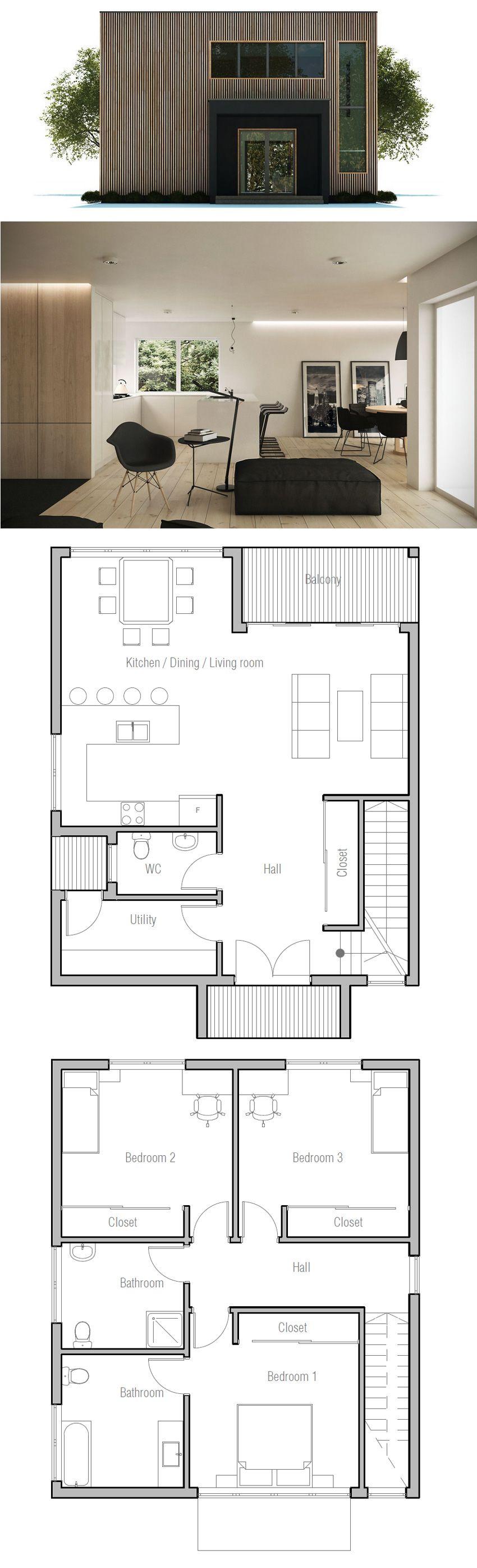 small house plan small house plans haus pl ne haus haus architektur. Black Bedroom Furniture Sets. Home Design Ideas
