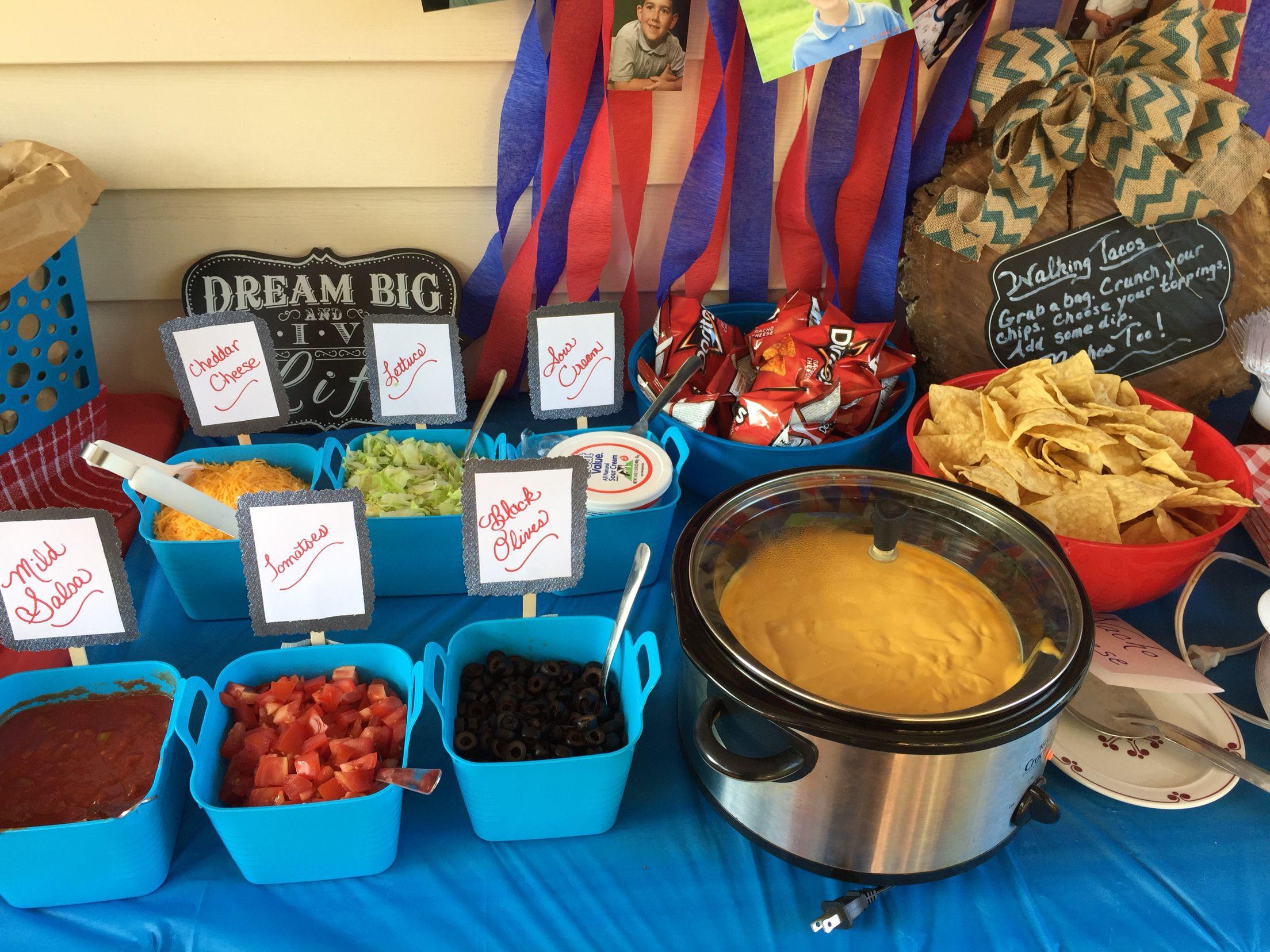 2017 05 potluck ideas for small groups - Walking Taco And Nacho Bar