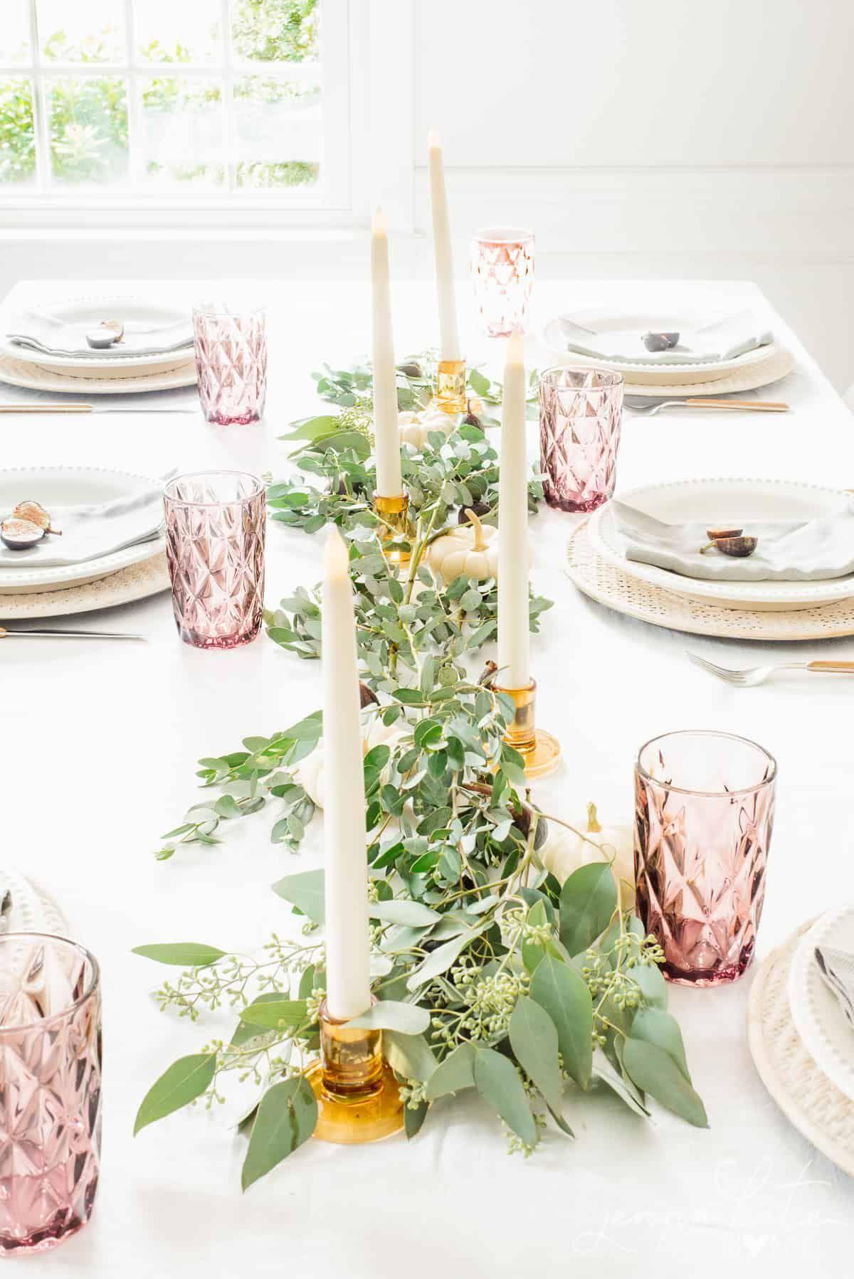 Natural Fall Decorating Ideas Fall Decor Inspired By Nature Fall Decor Fall Table Settings Table Setting Decor