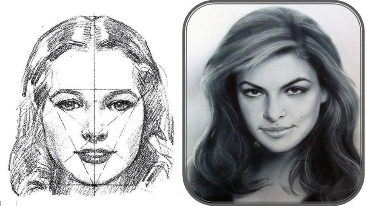 как правильно срисовывать с фотографии портрет причины