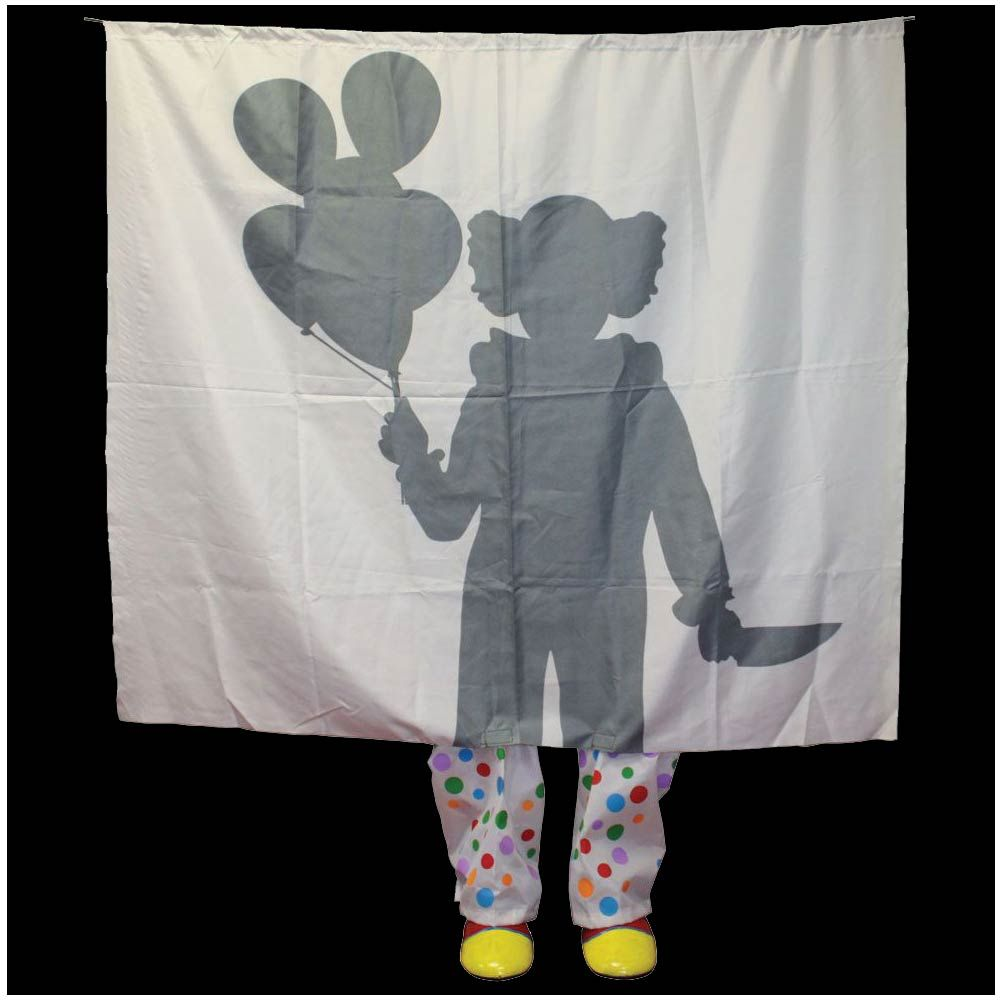 Image Result For Creepy Clown Window Silhouette In 2019