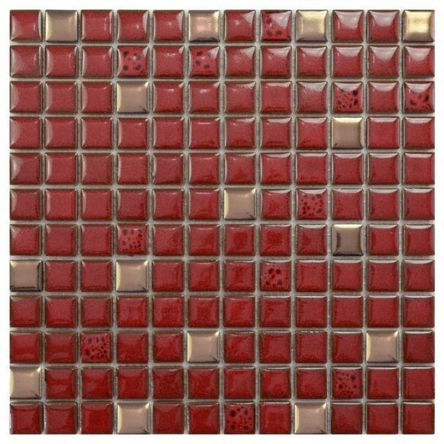 Porcelain Tile 1 Square Foot Contemporary Tile Porcelain Mosaic Tile Red Subway Tile Backsplash Porcelain Tile