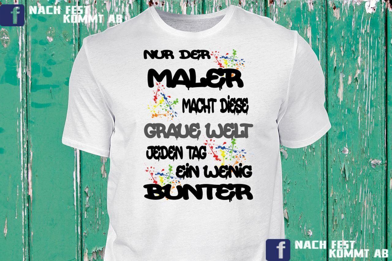 Tshirt shirt hoodie pullover fussmatte abtreter maler for Meister raumausstatter