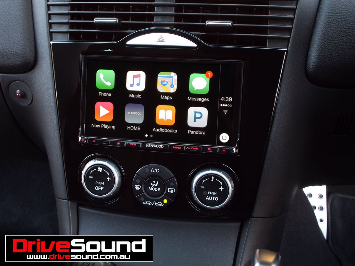 Mazda RX8 with Apple CarPlay installed by DriveSound