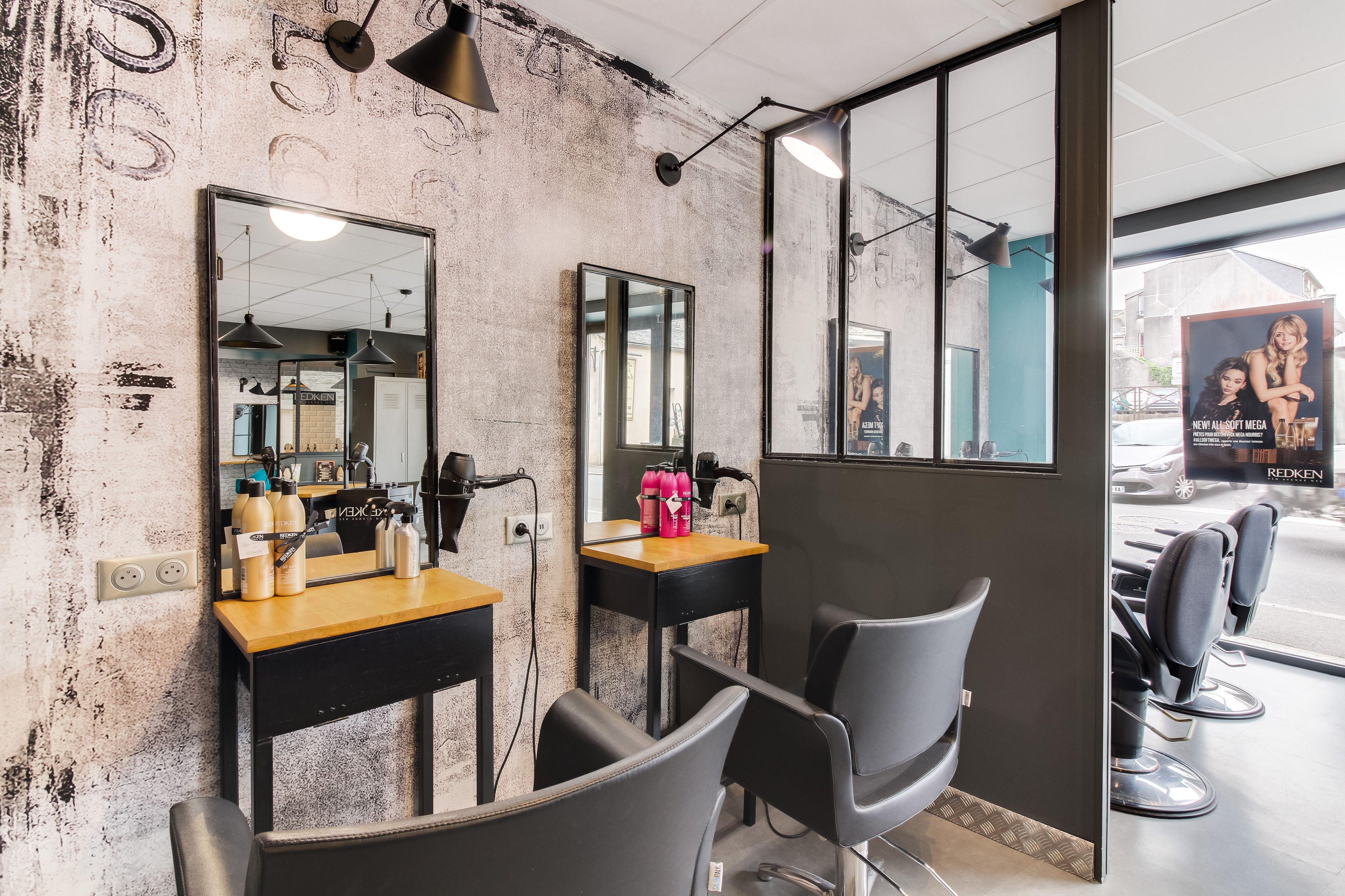 Perfect Mobilier Salon De Coiffure Liege