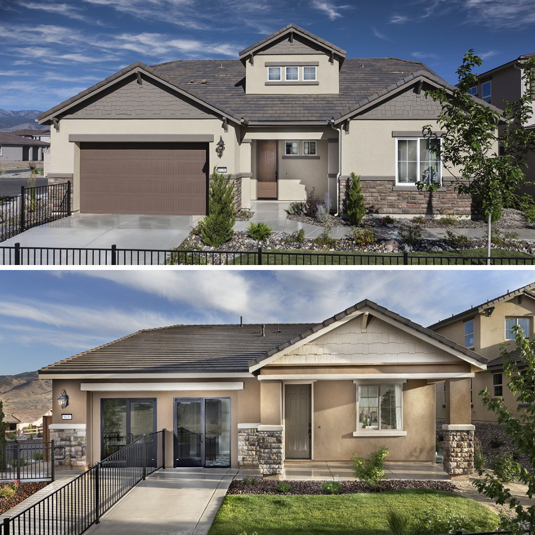 Are You Looking For A Home With Or Without Stairs Newhomes Lennar Lennarhomes Newhomesinreno New Homes Nevada Real Estate New Homes For Sale