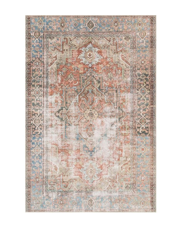Salamanca Terracotta 8 4 With Images Vintage Area Rugs