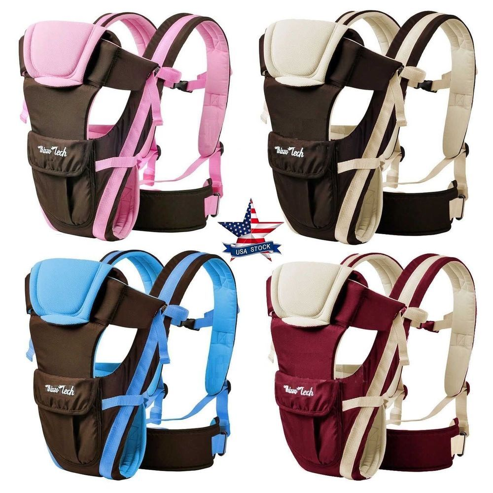 Newborn Baby Carrier Sling Wrap Backpack Front Back Chest