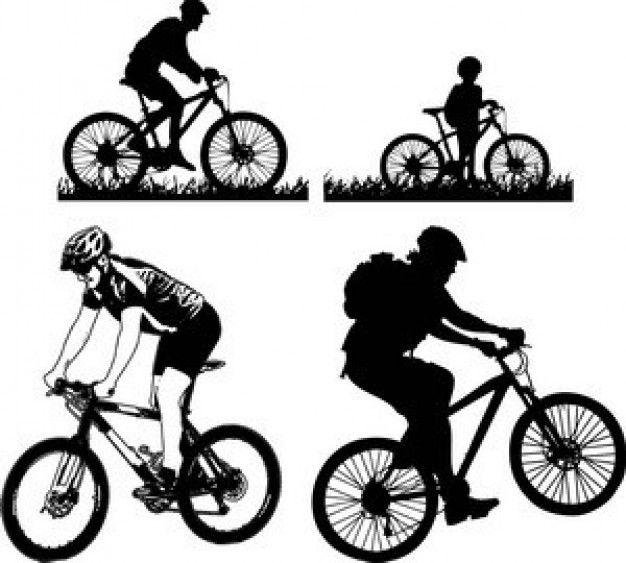 Ciclismo Mountain Vector Pacote Cricut Crafts Pinterest