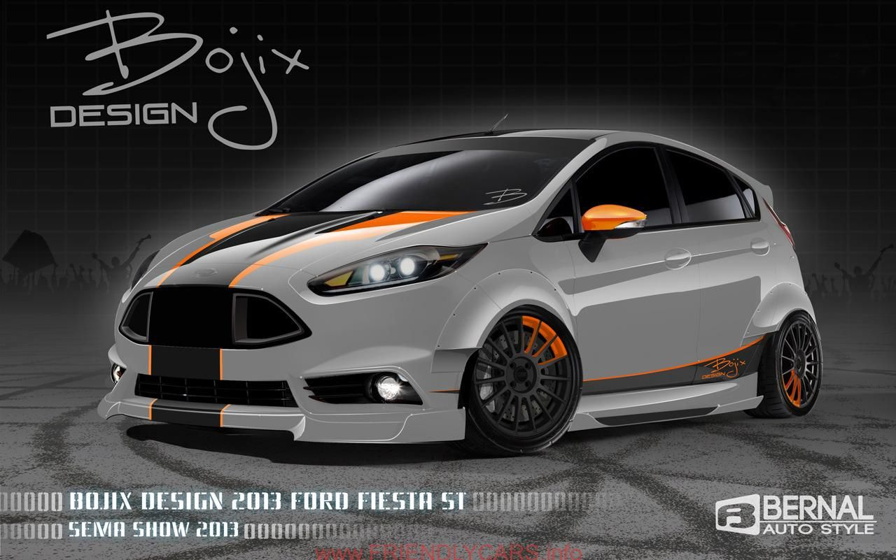 Awesome ford fiesta st modified car images hd ford to unveil 57 modified vehicles at 2013
