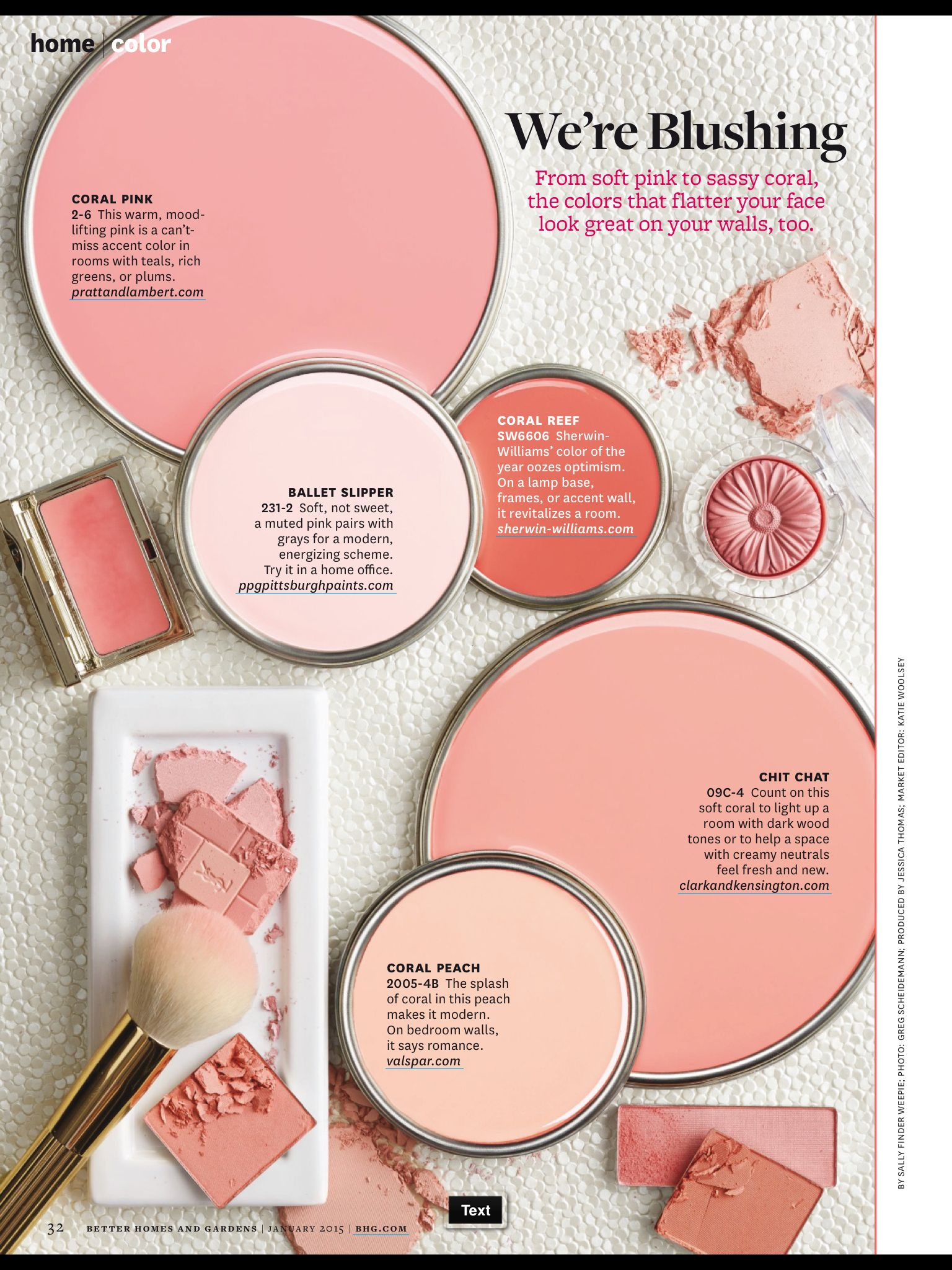 Better Homes And Gardens Paint Samples We Re Blushing