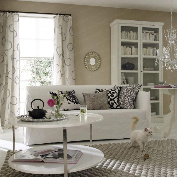 schön-wohnzimmer-schwarz - weiß-interieur-design interior - wohnzimmer schwarz wei