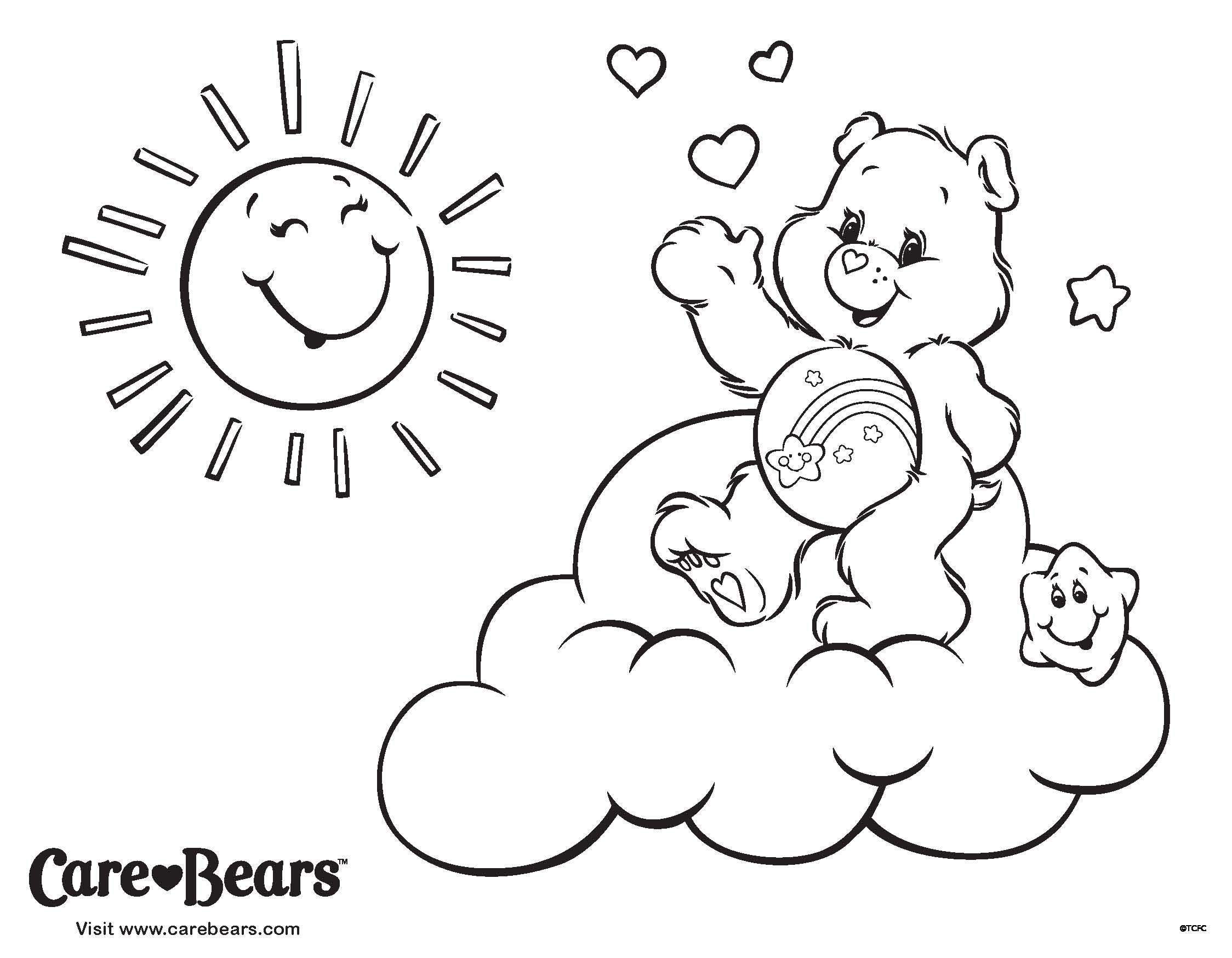 Care Bears Love Autumn Bear Coloring Pages Coloring Pages Care