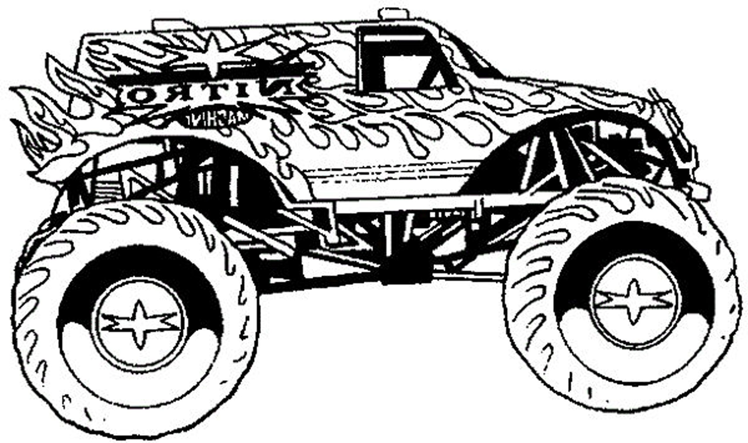 Coloring Pages For Boys The Sun Flower Pages In 2020 Monster Truck Coloring Pages Truck Coloring Pages Monster Trucks
