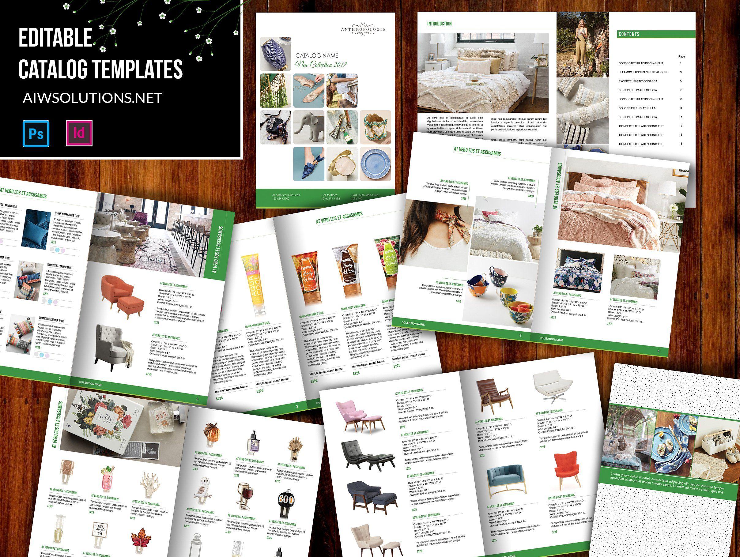 Wholesale Catalog template-id07