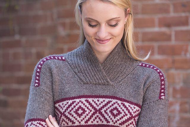 Ravelry: Hawkherst Sweater pattern by Amanda Bell