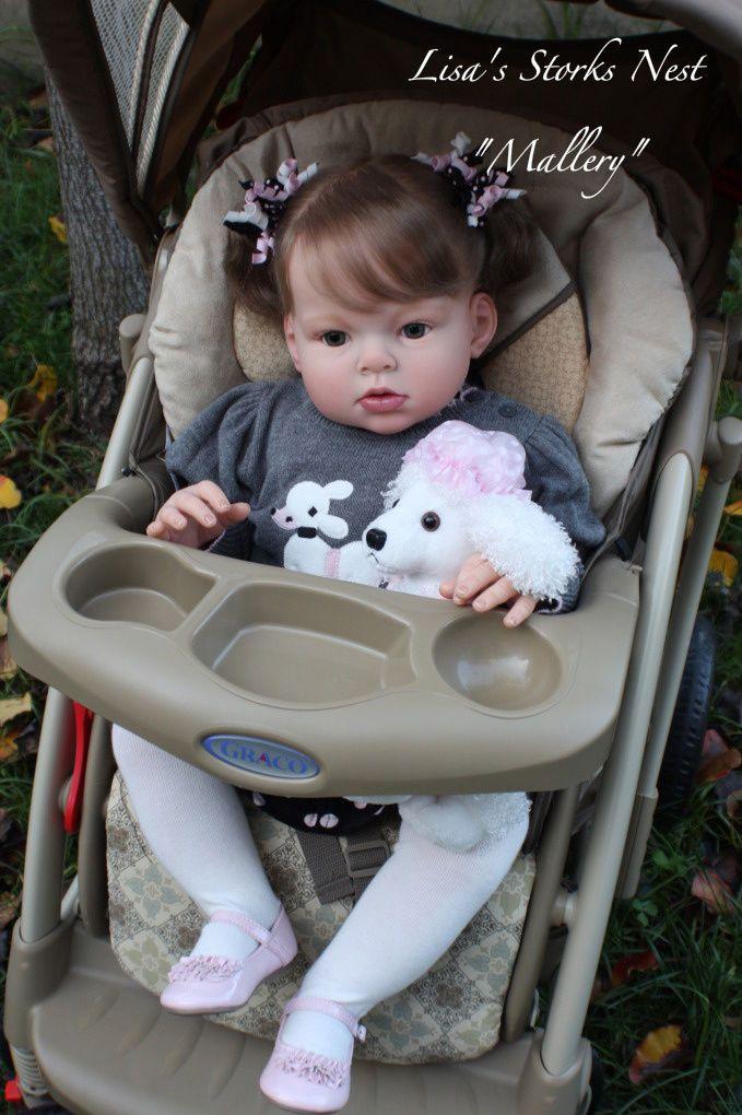 New Reborn Toddler Doll Kit Arianna By Reva Schick 28