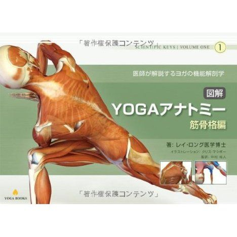 図解YOGAアナトミー:筋骨格編 - 医師が教えるヨガの機能解剖学(レイ・ロング医学博士,中村尚人)の感想