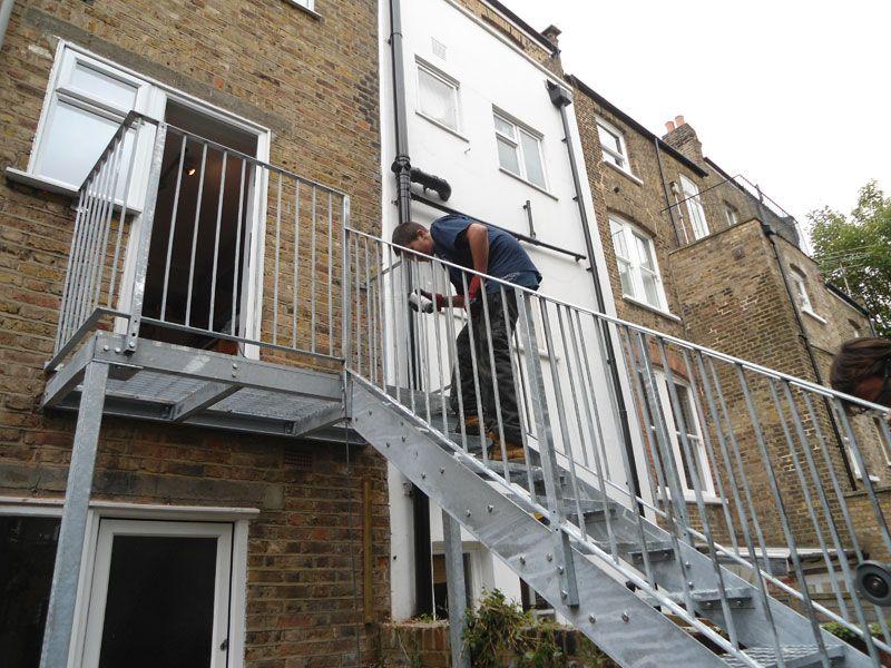 Galvanised Staircase London