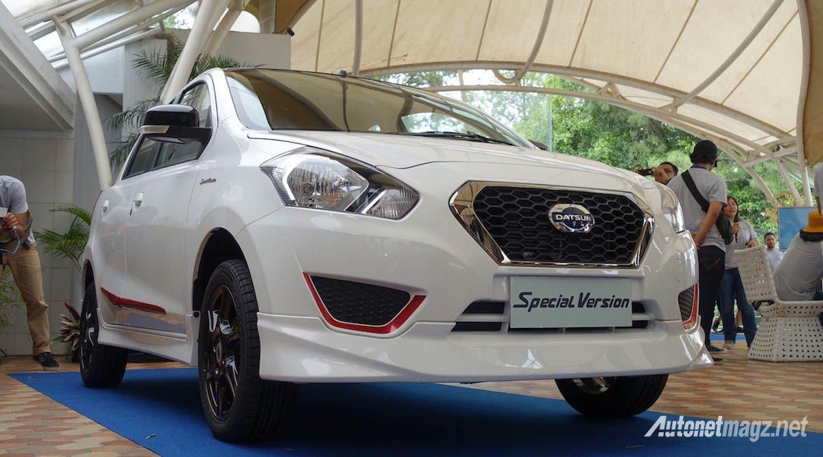 Modifikasi Mobil Datsun Go Panca Warna Putih Modifikasi Mobil Mobil Kendaraan