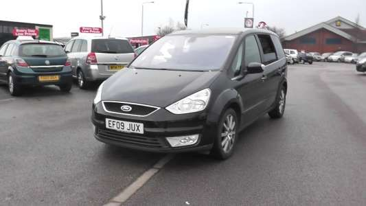Used 2009 09 Reg Black Ford Galaxy 1 8 Tdci Ghia 5dr 6 For