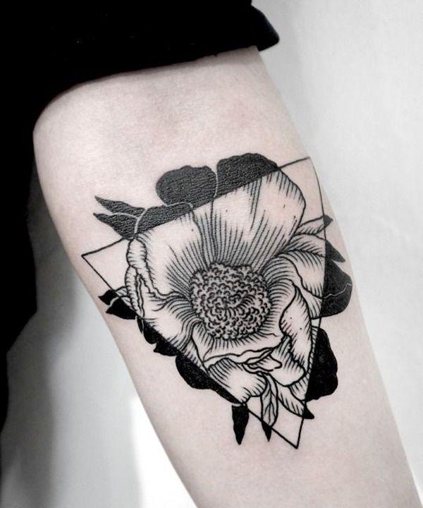 Geometric Tattoo Design Flower Geometric Tattoo Design Geometric Tattoo Tattoos