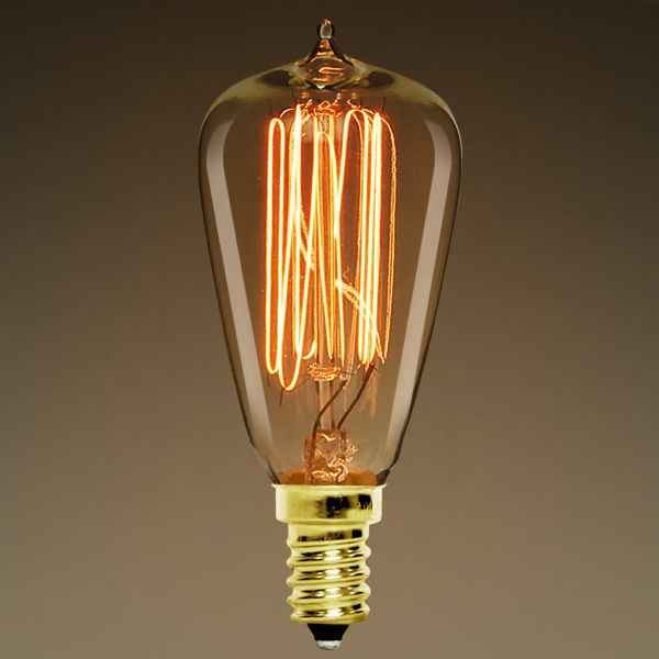 25 Watt Vintage Antique Light Bulb St38 Antique Light Bulbs Light Bulb Bulb
