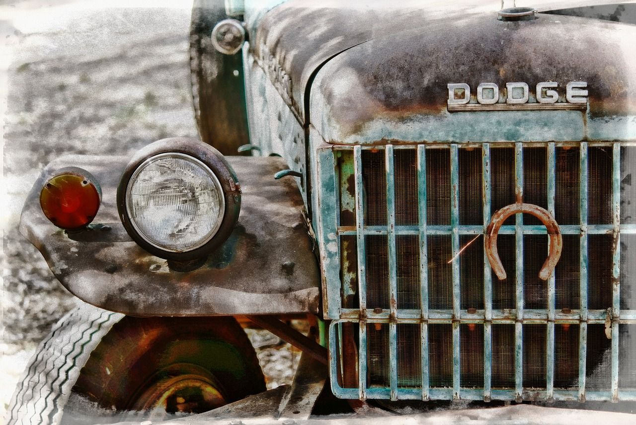 Australia, Old Truck, Dodge, Rust, Rusted, Truck
