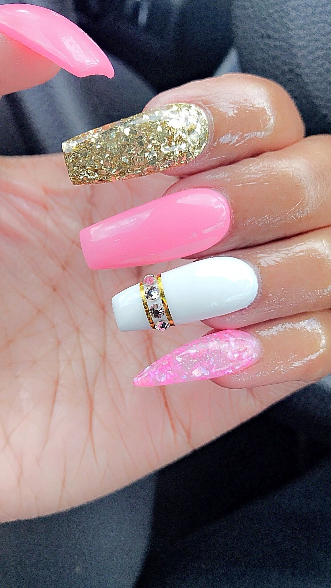 Pin de june24th😆 en nails | Pinterest | Diseños de uñas, Bonitas y ...