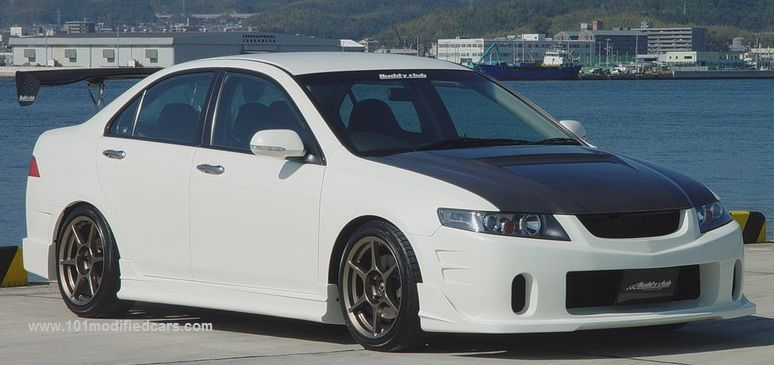 Modified Acura TSX St Generation With Custom Body Kit And Rear GT - Acura body kits