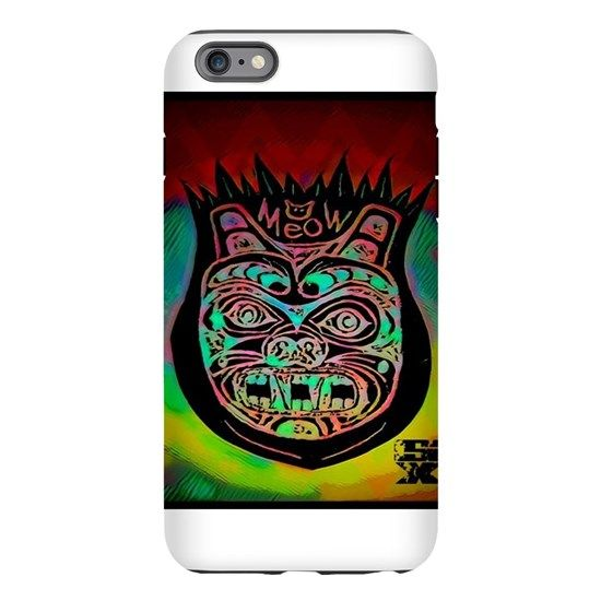 SkyXtreme Meow Tr iPhone 6 Plus/6s Plus Tough Case by ADMIN_CP146098236 - CafePress