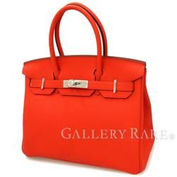 Hermes Birkin 30 cm handbag Kapushinu × Silver hardware Togo X engraved HERMES Birkin bag