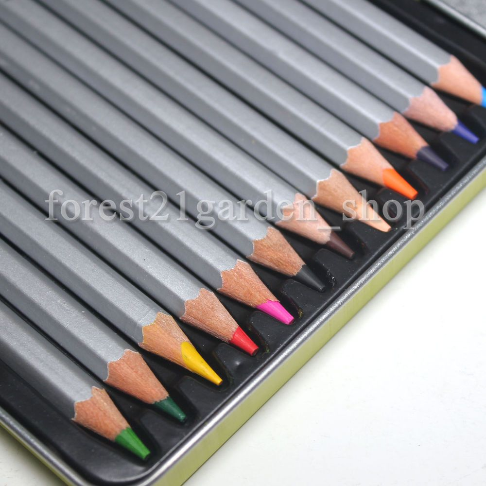 Monami Bauhaus Smooth Rich Color Pencils,High Break