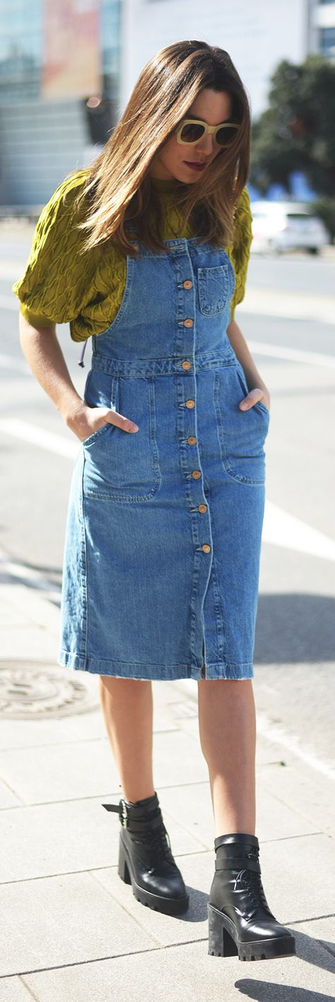 Denim Inspiration Dress by The Fashion Through My Eyes