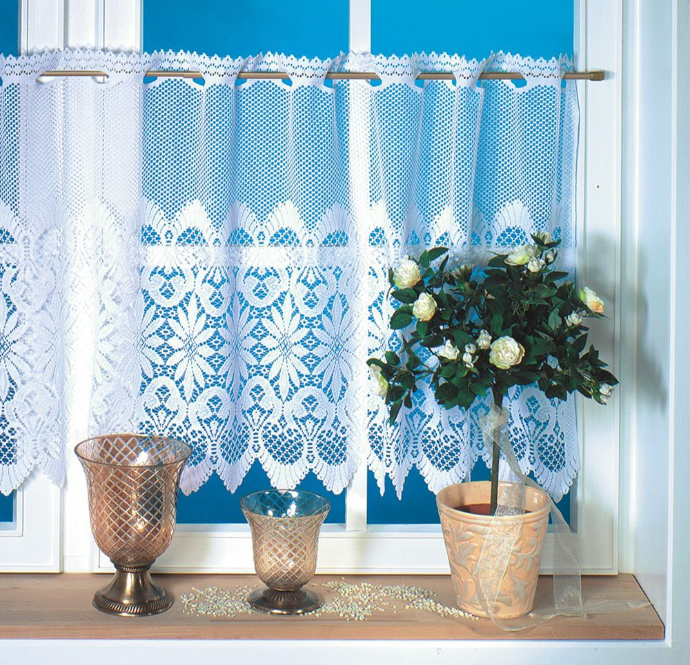 Find More Curtains Information about NEW160x60cm Drop polyester lace ...