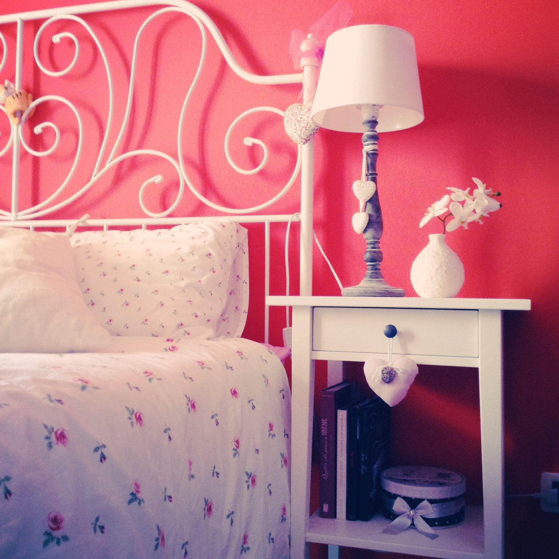 Il mio comodino, Ikea, Hemnes e letto Leirvik ❤ My Leirvik bed ...