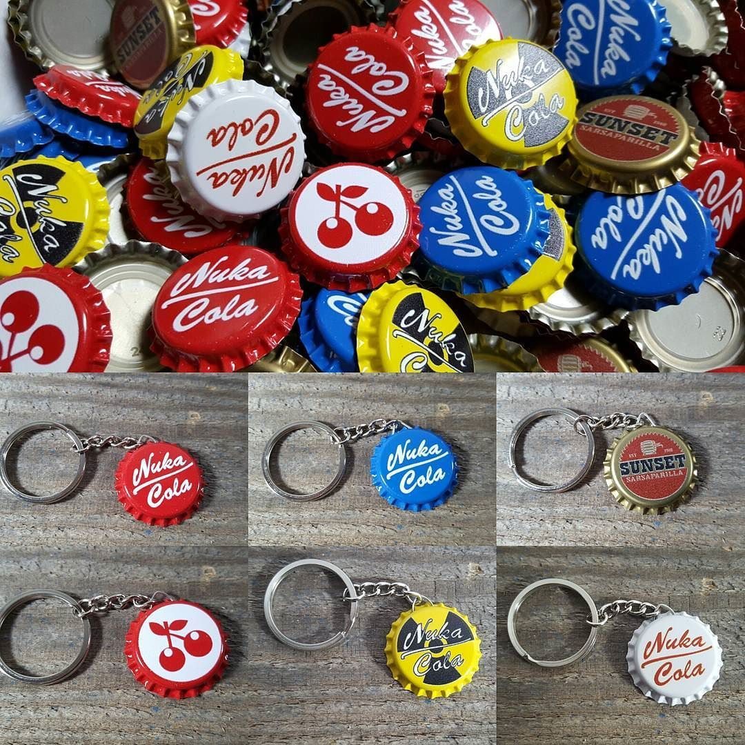 My 10 cap stash packs and keychains are now available through my Storenvy page. Link in my profile if you want to make a purchase.  #nukacola #falloutprops #fallout #cosplay #cosplayprop #prop #propmaking #propreplica