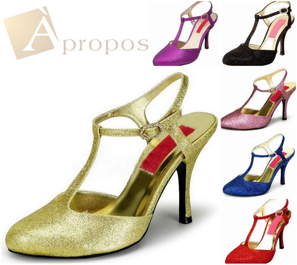 High Heel Sandale Damen Peeptoes Plateau Pump Blau Rot Schwarz Gold Lila  Rosa