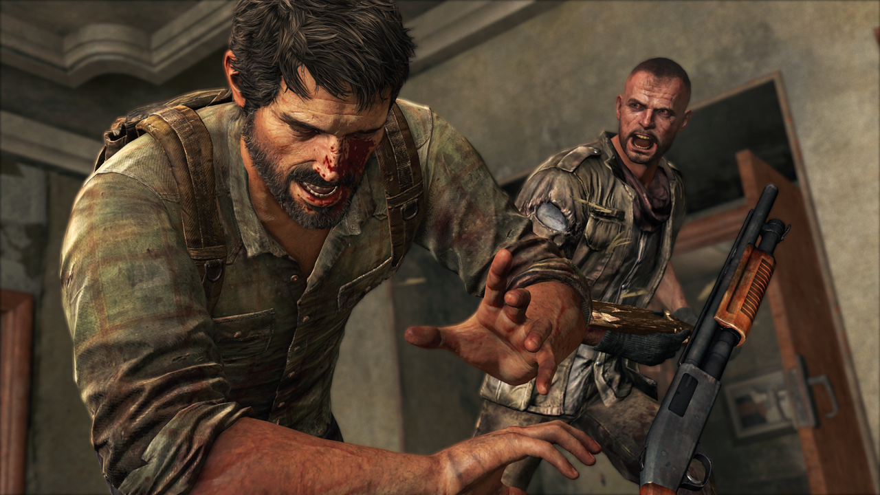 The Last of Us Screenshot - Joel hit