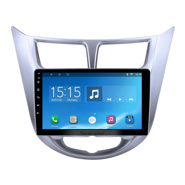 Seicane Android 6 0 2011 2012 2013 Hyundai Verna Radio Upgrade Gps Navigation System Car Stereo Gps Navigation System Radio
